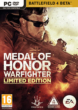 Medal Of Honor: Warfighter Limited Edtion PC Games Cover Art