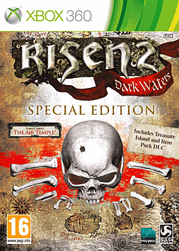 Risen 2: Dark Waters Special Edition Game Exclusive Xbox 360 Cover Art