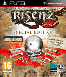 Risen 2: Dark Waters Special Edition Game Exclusive PlayStation 3 Cover Art