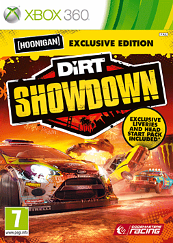 DiRT Showdown Hoonigan Edition Xbox 360 Cover Art