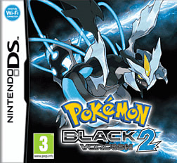 Pokemon Black Version 2 DSi and DS Lite Cover Art
