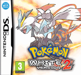 Pokemon White Version 2 DSi and DS Lite Cover Art