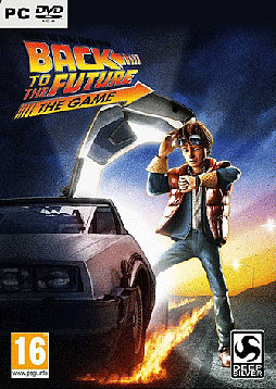 Back to the Future PC Games Cover Art