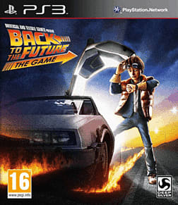 Back to the Future PlayStation 3 Cover Art