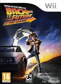 Back to the Future Wii Cover Art