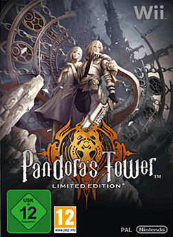 Pandora's Tower Limited Edition Wii Cover Art