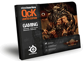 SteelSeries QcK Diablo III Gaming Surface - Barbarian Accessories