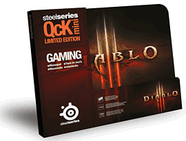 SteelSeries QcK Mini Diablo III Gaming Surface - Diablo III Logo Accessories