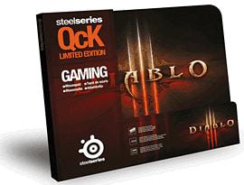 SteelSeries QcK Diablo III Gaming Surface - Diablo III Logo Accessories