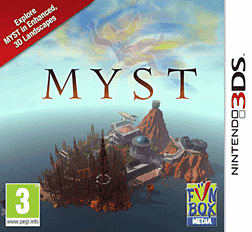 Myst 3DS Cover Art