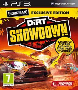 DiRT Showdown Hoonigan Edition - GAME Exclusive PlayStation 3 Cover Art