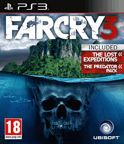 Far Cry 3 Lost Expeditions Edition PlayStation 3 Cover Art