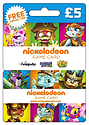 Nickelodeon Game Card - 5 Gifts