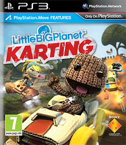 LittleBigPlanet Karting PlayStation 3 Cover Art