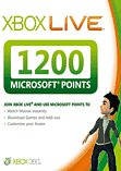 Xbox LIVE Marketplace 1200 Points XBOX360