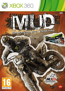 MUD - FIM Motocross World Championship Xbox 360 Cover Art