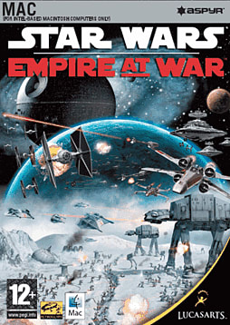 Star Wars: Empire at War (MAC) Mac Cover Art
