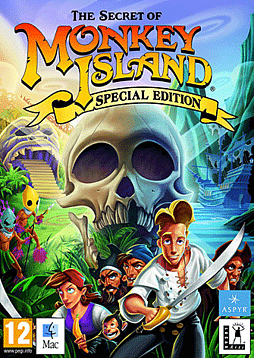 The Secret of Monkey Island - Special Edition (Mac) Mac Cover Art