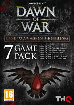 Warhammer 40K Dawn of War Ultimate Collection PC Games Cover Art