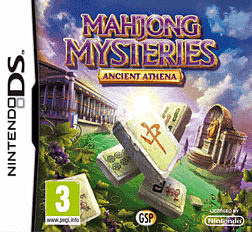 Mahjong Mysteries and Legends of Athena DSi and DS Lite Cover Art