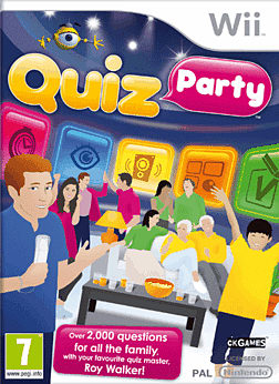 Quiz Party Wii Cover Art