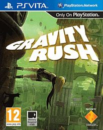 Gravity Rush PS Vita Cover Art