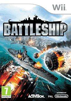 Battleship Wii Cover Art