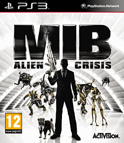MIB: Alien Crisis PlayStation 3 Cover Art