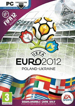 UEFA Euro 2012 PC Games Cover Art