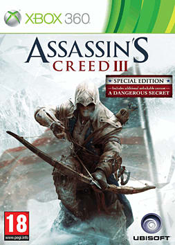 Assassin's Creed III GAME Exclusive Edition Xbox 360 Cover Art