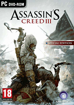 Assassin's Creed III GAME Exclusive Edition PC Games Cover Art