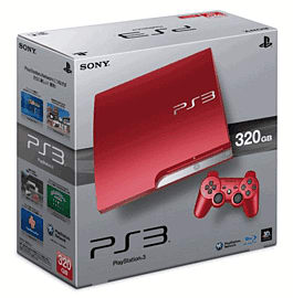 PlayStation 3 320GB Slim - Scarlet Red PlayStation 3