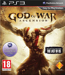 God of War: Ascension PlayStation 3 Cover Art