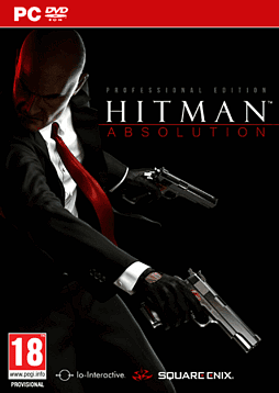 Hitman Absolution: Professional Edition PC Games Cover Art