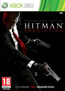 Hitman Absolution: Professional Edition Xbox 360 Cover Art