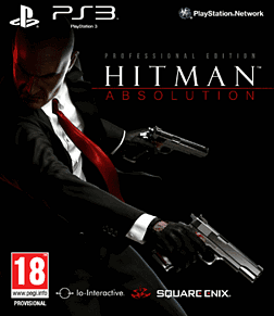 Hitman Absolution: Professional Edition PlayStation 3 Cover Art