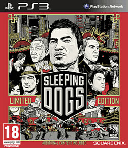 Sleeping Dogs - Limited Edition PlayStation 3 Cover Art