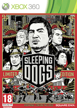 Sleeping Dogs - Limited Edition Xbox 360 Cover Art