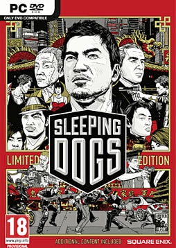Sleeping Dogs - Limited Edition PC Games Cover Art
