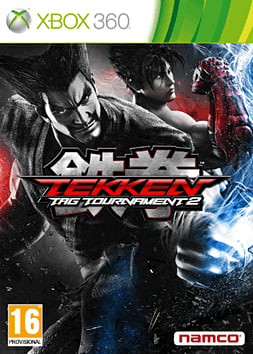 Tekken Tag Tournament 2 Xbox 360 Cover Art
