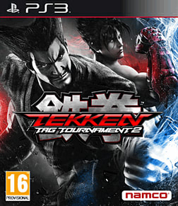 Tekken Tag Tournament 2 PlayStation 3 Cover Art