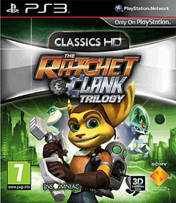 The Ratchet & Clank Trilogy: Classics HD PlayStation 3 Cover Art