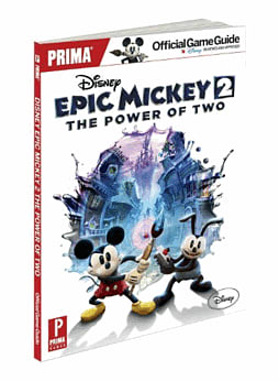 Disney Epic Mickey 2: The Power of Two Collector's Edition Strategy Guide Strategy Guides and Books