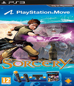 Sorcery with Move Starter Pack and Navigation Controller PS3 Cover Art