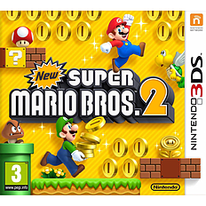 New Super Mario Bros 2 3DS Cover Art