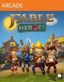 Fable Heroes Xbox Live Cover Art