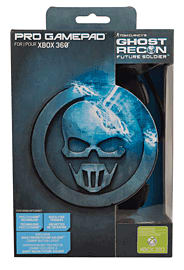 Ghost Recon: Future Soldier Wired Xbox 360 Controller Accessories 