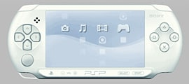 PSP E1000 White PSP 