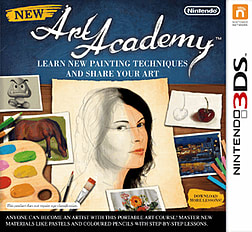 New Art Academy 3DS Cover Art