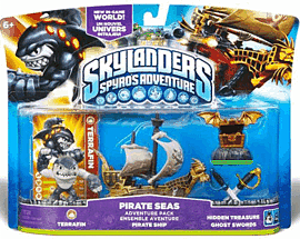 Skylanders: Pirate Seas Adventure Pack Toys and Gadgets